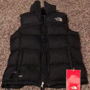 The North Face Puffer Vest. Tags Attached XS